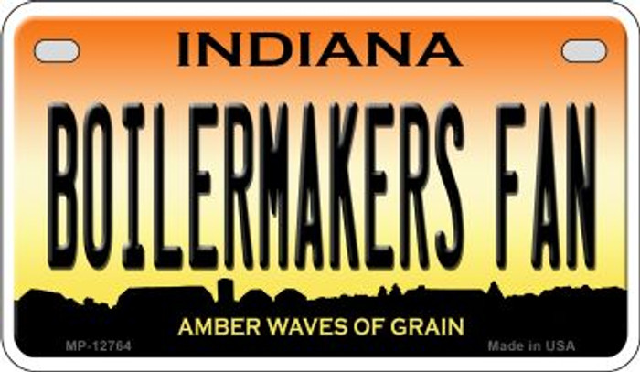 Boilermakers Fan Novelty Metal Motorcycle Plate MP-12764