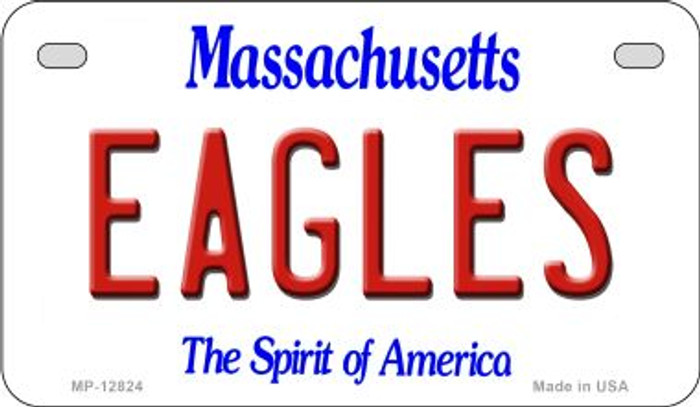 Eagles Novelty Metal Motorcycle Plate MP-12824