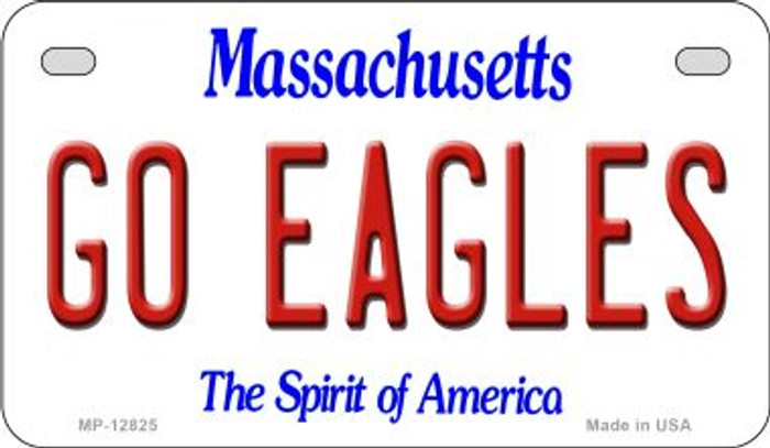 Go Eagles Novelty Metal Motorcycle Plate MP-12825