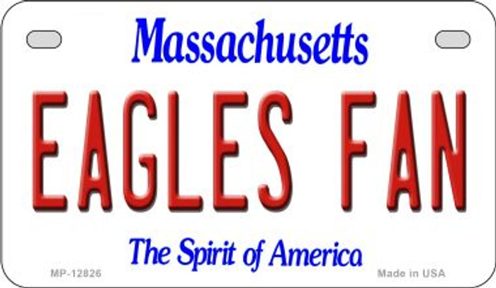 Eagles Fan Novelty Metal Motorcycle Plate MP-12826
