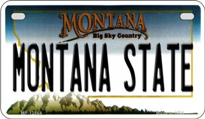 Montana State Novelty Metal Motorcycle Plate MP-12864
