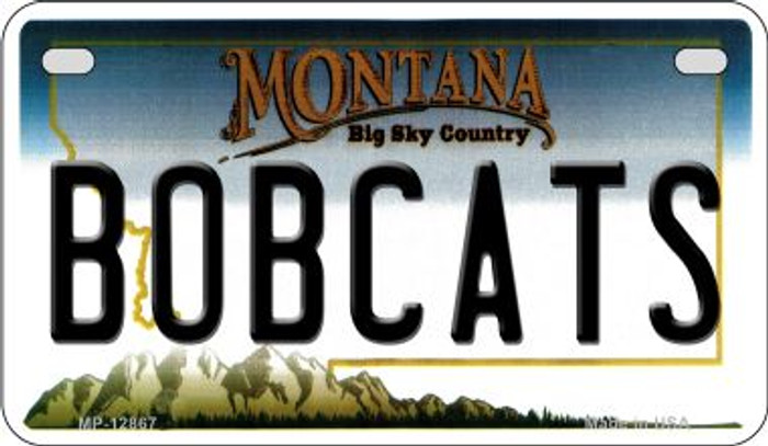 Bobcats Novelty Metal Motorcycle Plate MP-12867