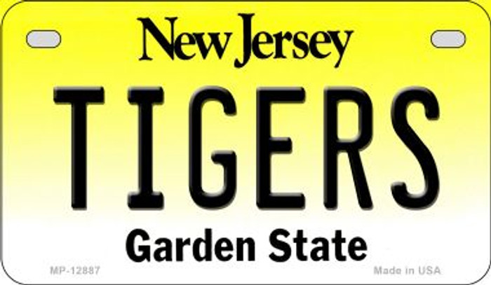 Tigers Novelty Metal Motorcycle Plate MP-12887
