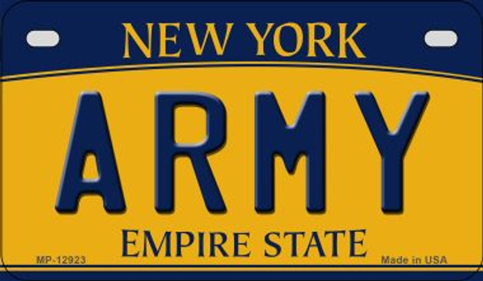 Army Novelty Metal Motorcycle Plate MP-12923