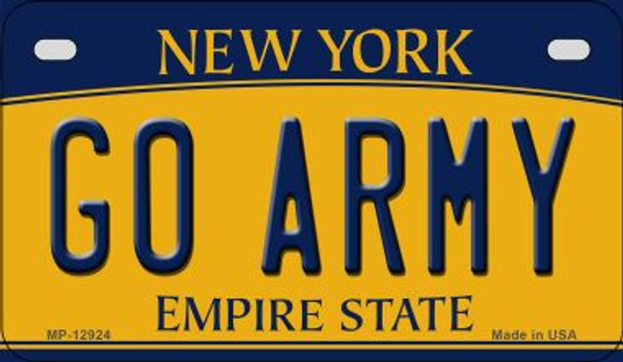 Go Army Novelty Metal Motorcycle Plate MP-12924