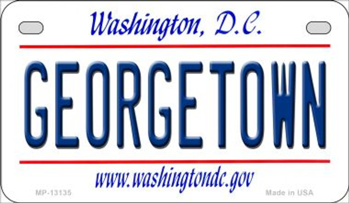 Georgetown Novelty Metal Motorcycle Plate MP-13135
