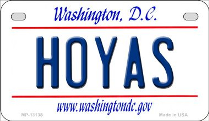 Hoyas Novelty Metal Motorcycle Plate MP-13138