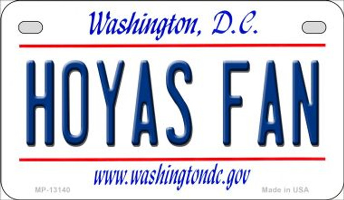 Hoyas Fan Novelty Metal Motorcycle Plate MP-13140