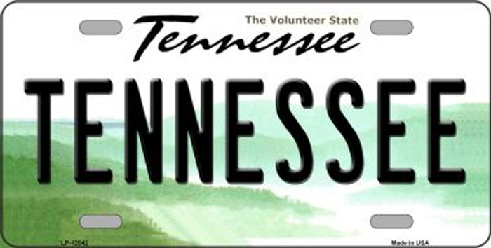 Tennessee Novelty Metal License Plate LP-12042