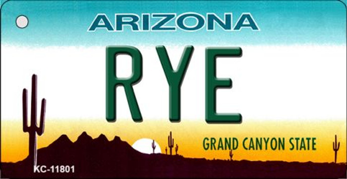 Arizona Rye Novelty Metal Key Chain KC-11801