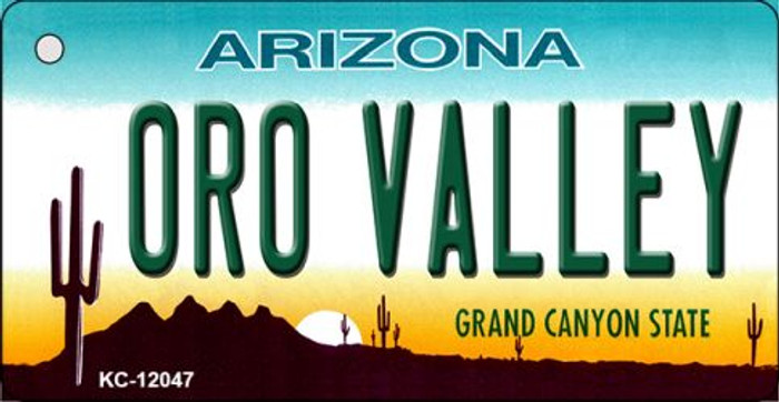 Arizona Oro Valley Novelty Metal Key Chain KC-12047