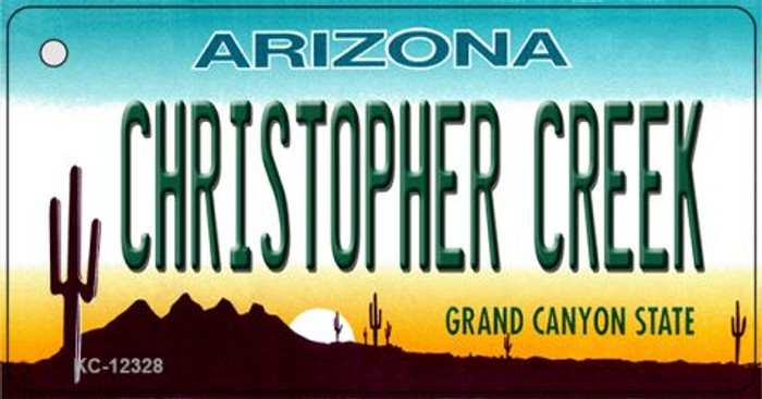 Arizona Christopher Creek Novelty Metal Key Chain KC-12328