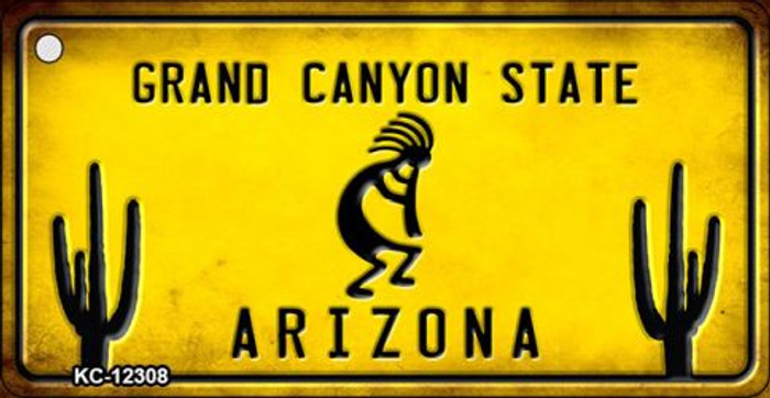Arizona Kokopelli Novelty Metal Key Chain KC-12308