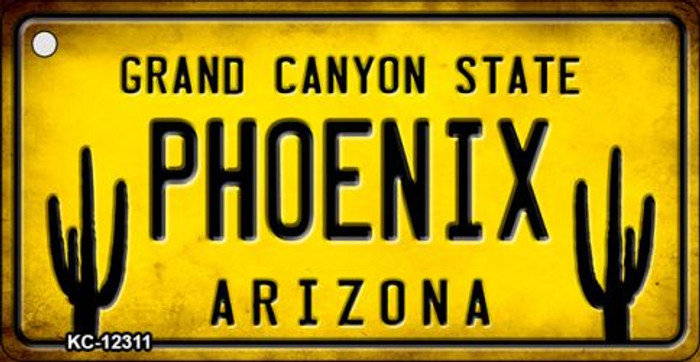 Arizona Phoenix Novelty Metal Key Chain KC-12311