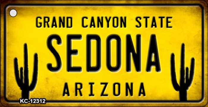 Arizona Sedona Novelty Metal Key Chain KC-12312