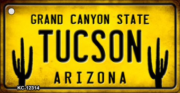 Arizona Tucson Novelty Metal Key Chain KC-12314