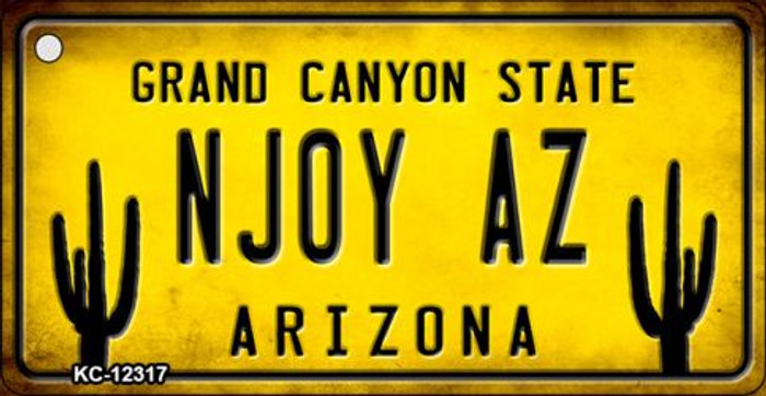 Arizona NJOY AZ Novelty Metal Key Chain KC-12317