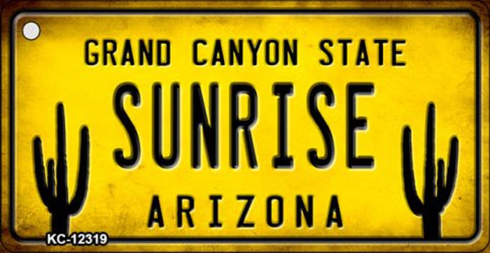 Arizona Sunrise Novelty Metal Key Chain KC-12319