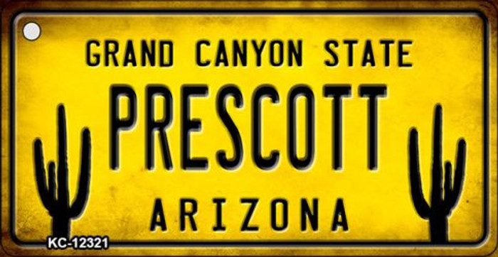 Arizona Prescott Novelty Metal Key Chain KC-12321