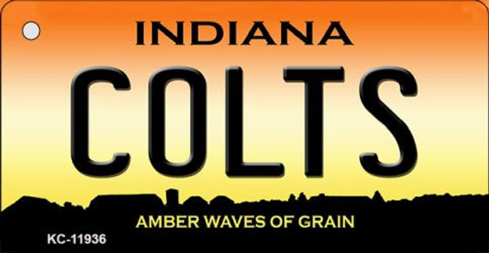 Indiana Colts Novelty Metal Key Chain KC-11936