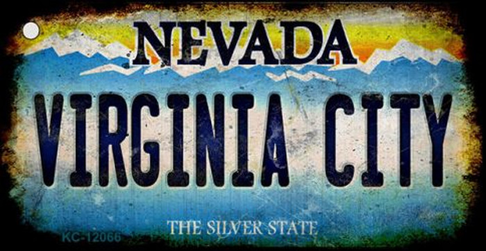 Nevada Virginia City Novelty Metal Key Chain KC-12066
