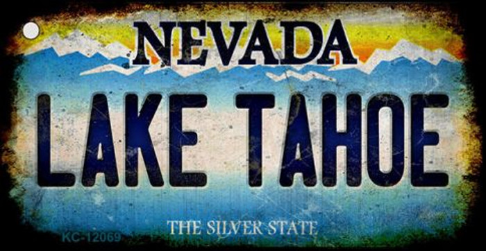 Nevada Lake Tahoe Novelty Metal Key Chain KC-12069