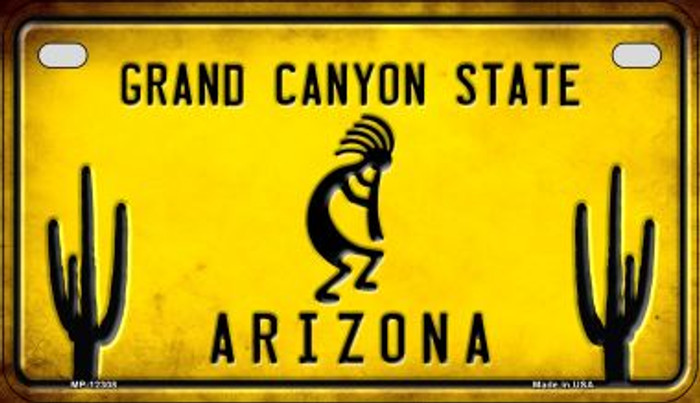 Arizona Kokopelli Novelty Metal Motorcycle Plate MP-12308