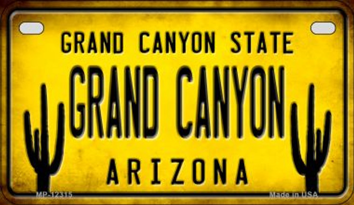 Arizona Grand Canyon Novelty Metal Motorcycle Plate MP-12315