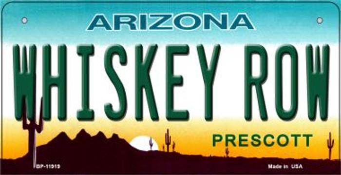 Arizona Whiskey Row Novelty Metal Bicycle Plate BP-11919