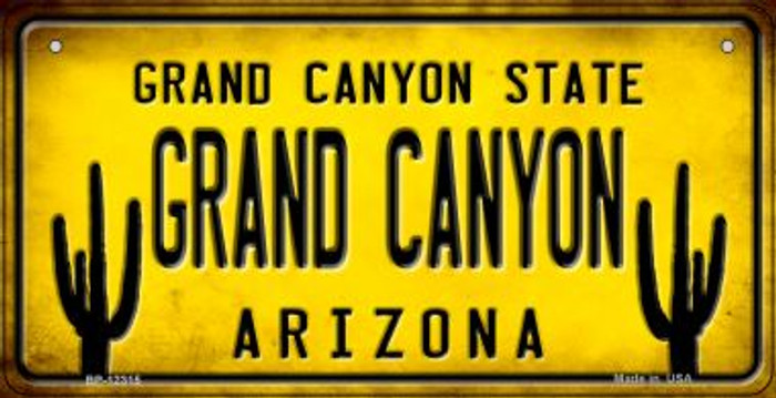 Arizona Grand Canyon Novelty Metal Bicycle Plate BP-12315