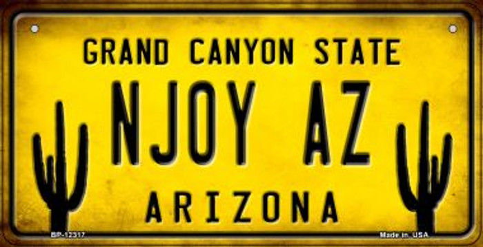 Arizona NJOY AZ Novelty Metal Bicycle Plate BP-12317