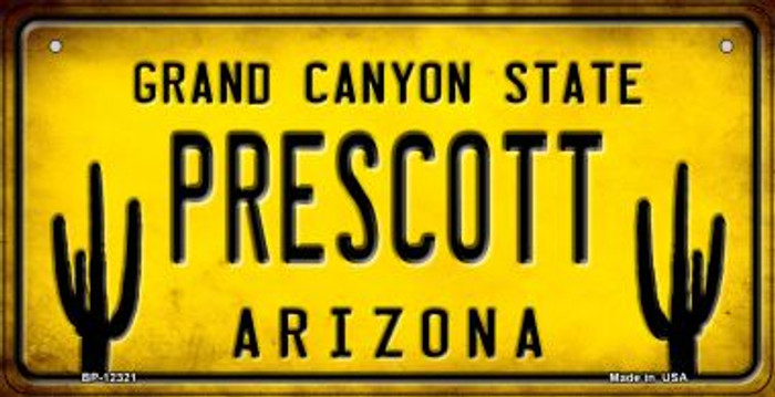 Arizona Prescott Novelty Metal Bicycle Plate BP-12321