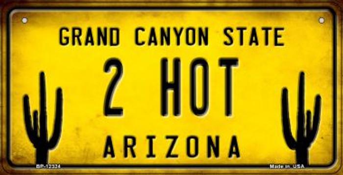 Arizona 2 Hot Novelty Metal Bicycle Plate BP-12324