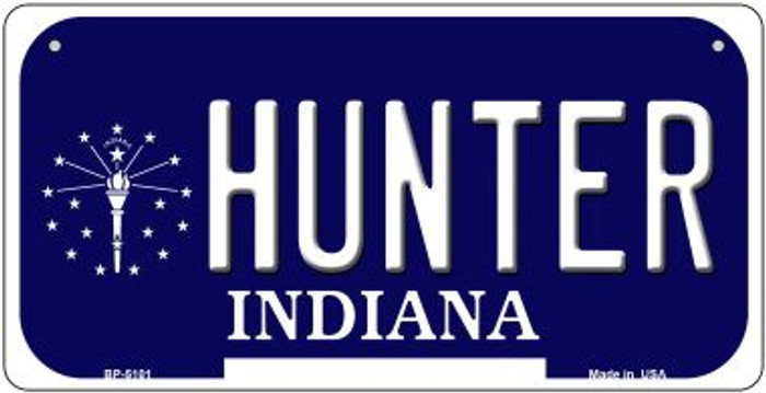 Indiana Hunter Novelty Metal Bicycle Plate BP-5101