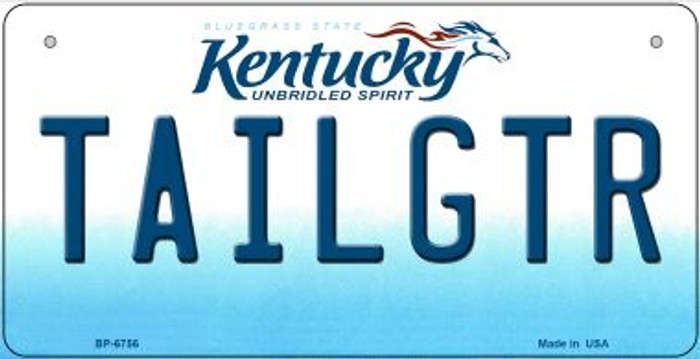 Kentucky Tailgtr Novelty Metal Bicycle Plate BP-6756
