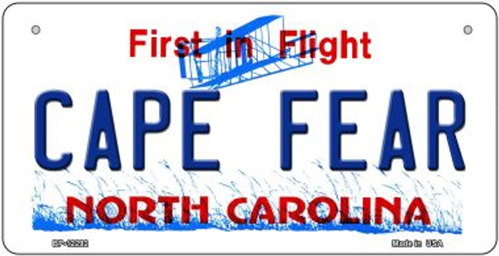 North Carolina Cape Fear Novelty Metal Bicycle Plate BP-12292