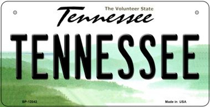 Tennessee Novelty Metal Bicycle Plate BP-12042