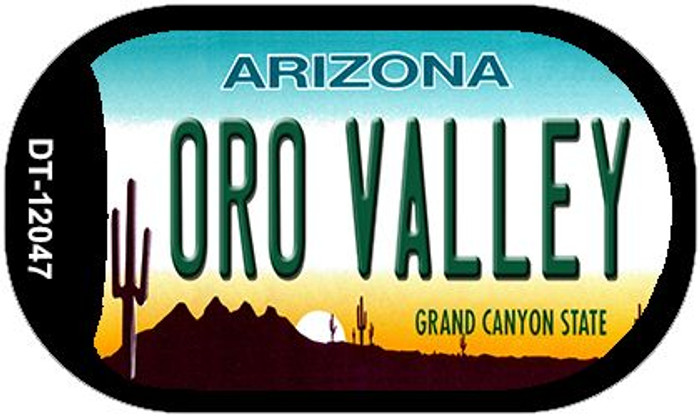 Arizona Oro Valley Novelty Metal Dog Tag Necklace DT-12047