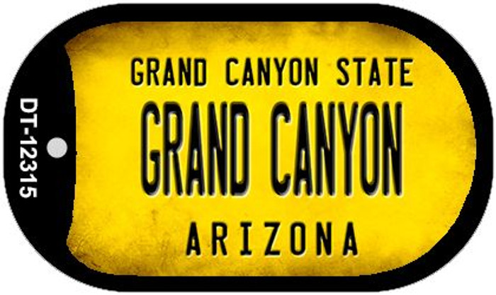 Arizona Grand Canyon Novelty Metal Dog Tag Necklace DT-12315