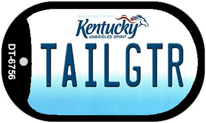 Kentucky Tailgtr Novelty Metal Dog Tag Necklace DT-6756