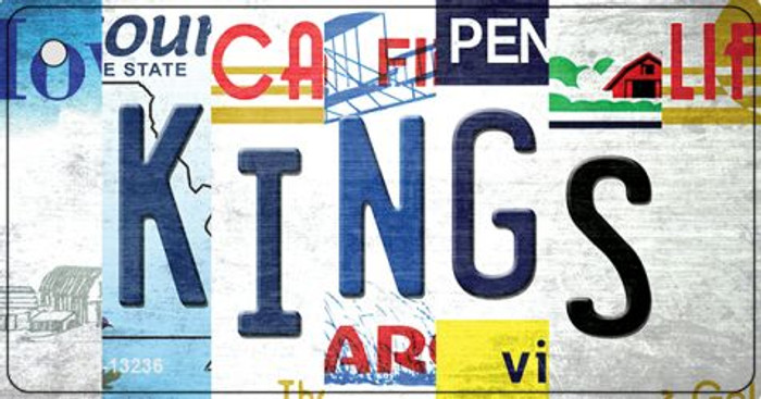 Kings Strip Art Novelty Metal Key Chain KC-13236
