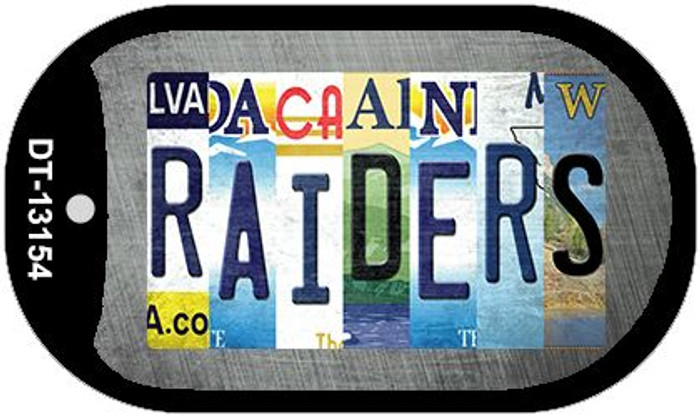 Raiders Strip Art Novelty Metal Dog Tag Necklace DT-13154