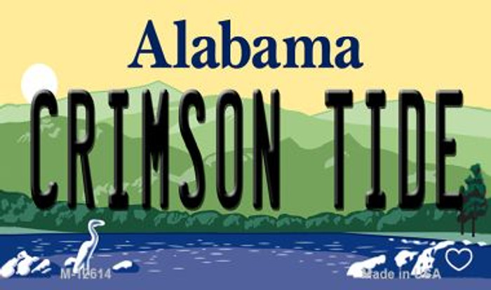 Crimson Tide Novelty Metal Magnet M-12614
