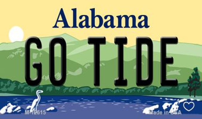 Go Tide Novelty Metal Magnet M-12615