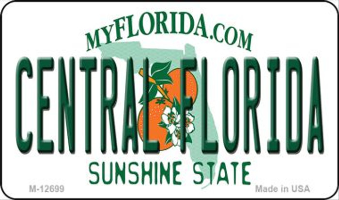 Central Florida Novelty Metal Magnet M-12699