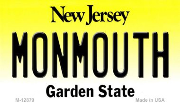 Monmouth Novelty Metal Magnet M-12879