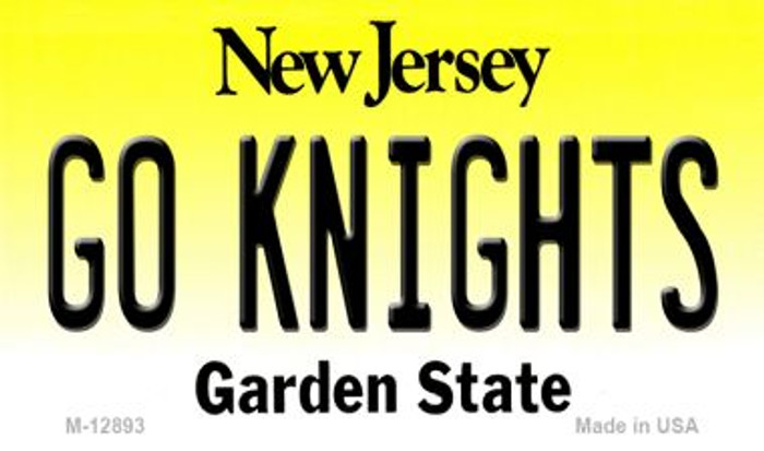 Go Knights Novelty Metal Magnet M-12893