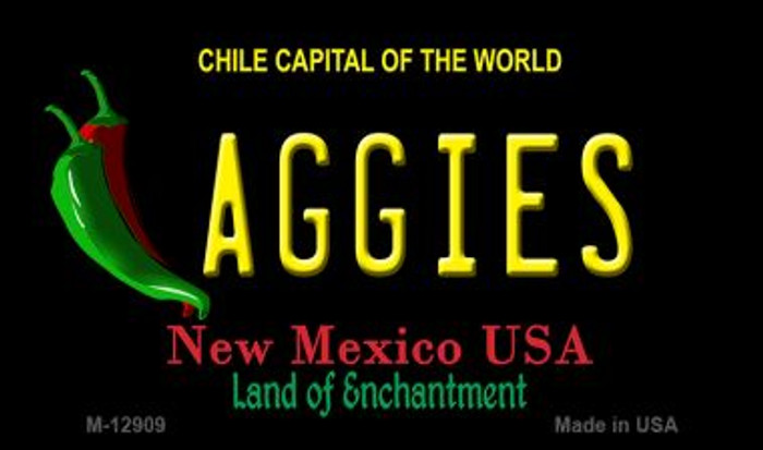 Aggies Novelty Metal Magnet M-12909