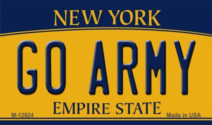 Go Army Novelty Metal Magnet M-12924