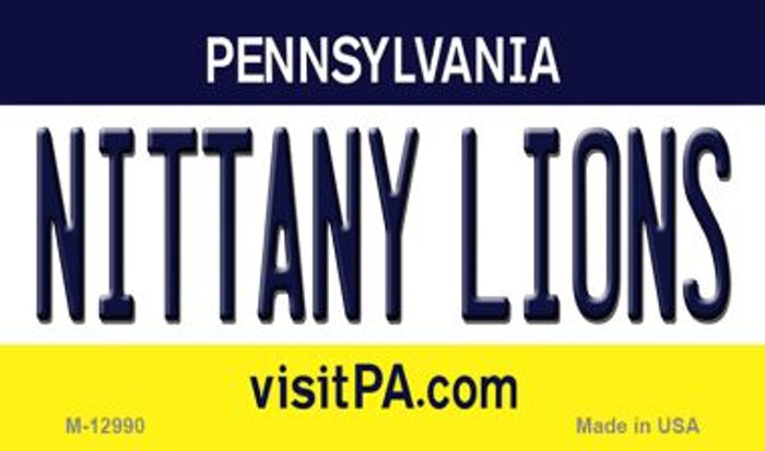 Nittany Lions Novelty Metal Magnet M-12990
